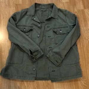 American Eagle distressed jacket
